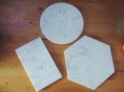 Minimalist marble boards (S$58)